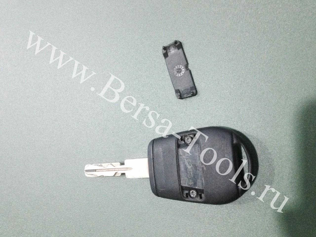 Разбор ключа BMW