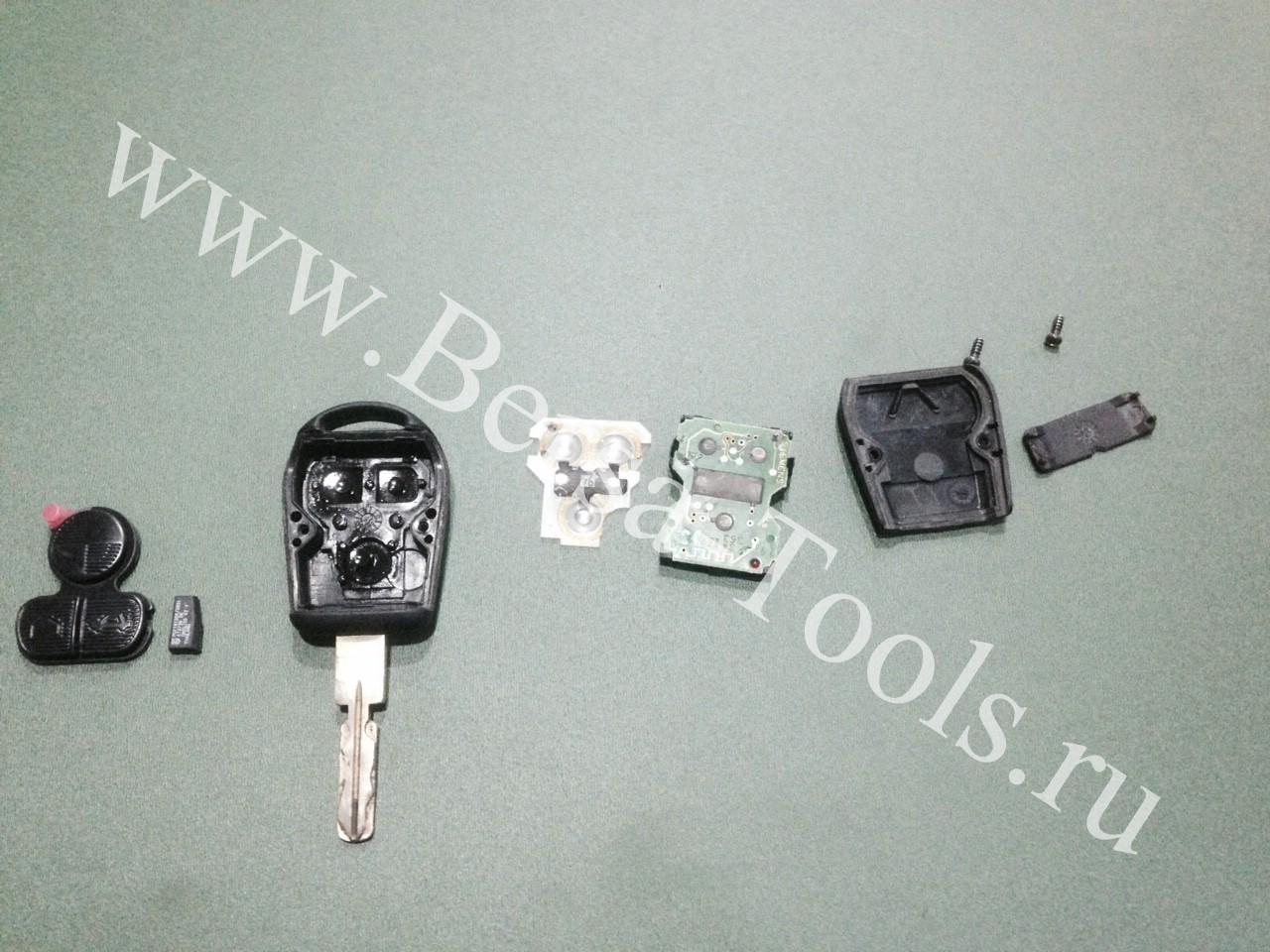 Ремонт ключа БМВ х5 е36 е39 е38 в Кирове