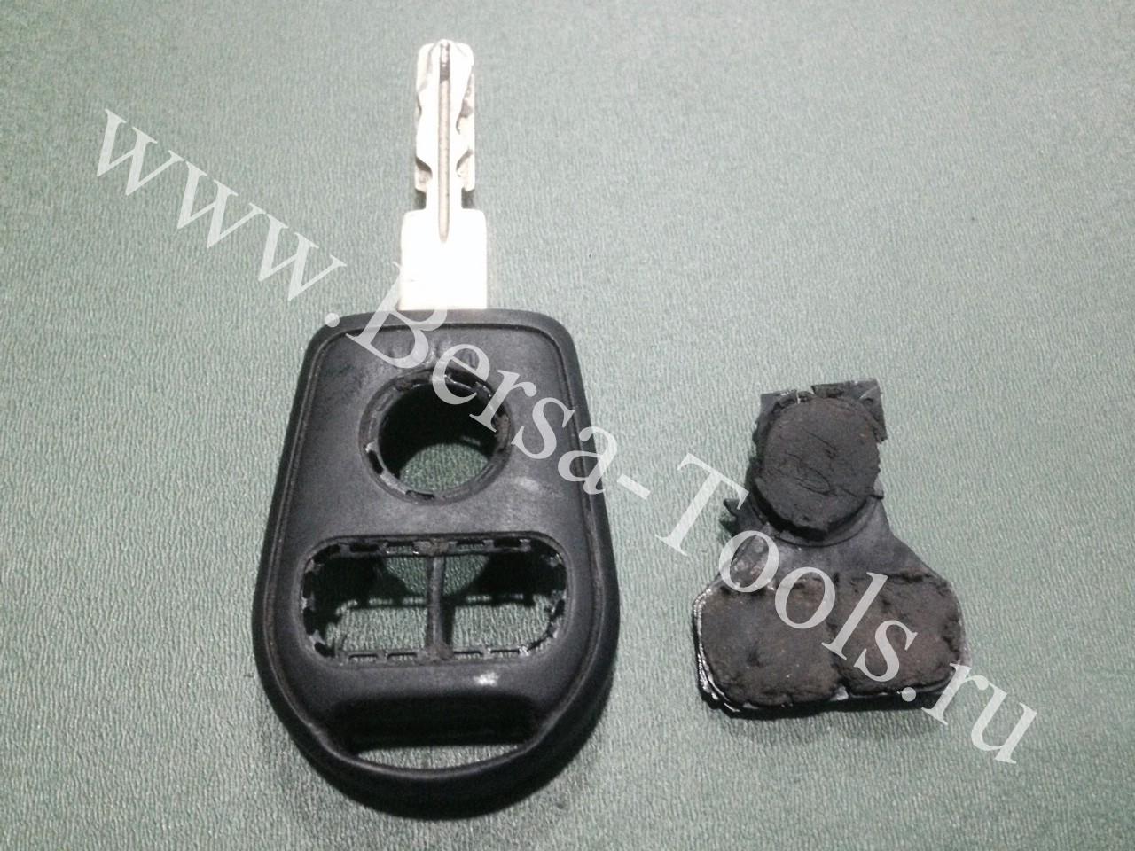 Замена конопок в ключе BMW e36 e38 e39 e53