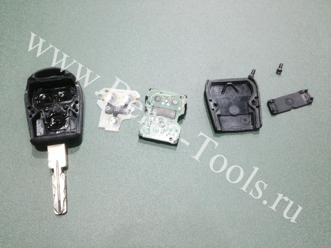 Ремонт ключа BMW e39 e53 x5 e36 e38