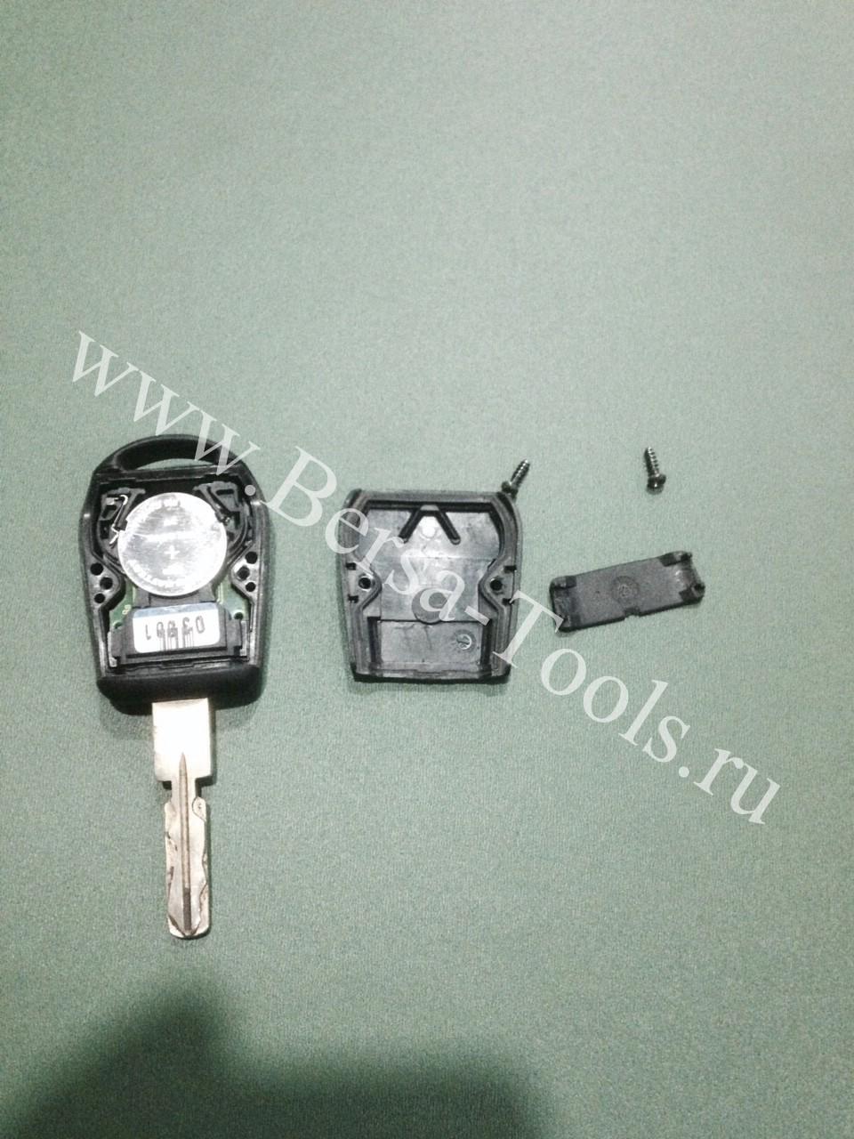 Разобрать ключ BMW E39 E53 X5 E38 E36